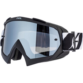 O'Neal B-10 Lunettes de protection, twoface-black-silver mirror